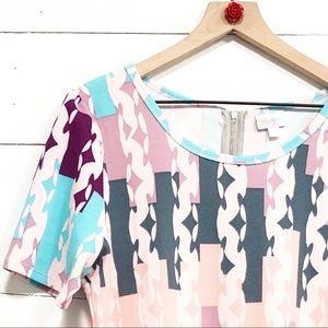Lularoe Amelia dress print w/pockets NWT midi